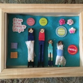 Mother's Day Clothespin Shadowboxes