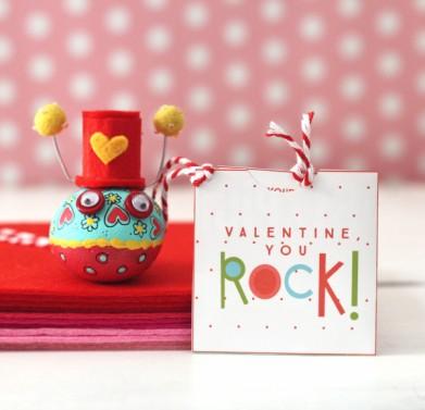 valentine rock